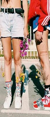 גרביים- תמונה של העמודה
