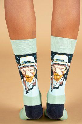 גרביים בעיצוב ואן גוך מלון