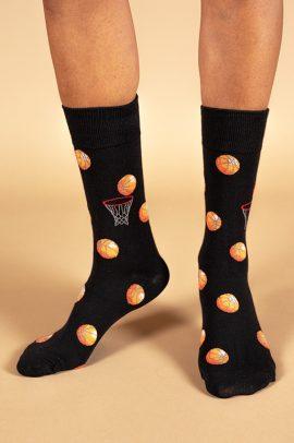 גרביים בעיצוב כדור סל