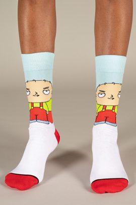 גרביים בעיצוב סטואי גריפין