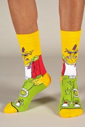 גרביים בעיצוב bebop