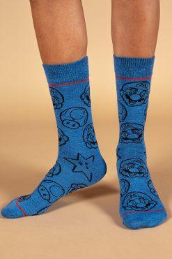 גרביים בעיצוב mario day