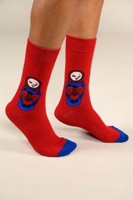 גרביים בעיצוב בבושקה - 600064