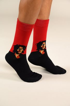 גרביים בעיצוב בוב מרלי - 600055