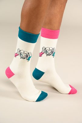 גרביים בעיצוב הארלי קווין - 600067