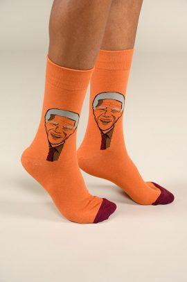 גרביים בעיצוב נלסון מנדלה - 600069