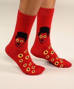 גרביים בעיצוב צ'ארלי צ'אפלין 1 - 600063
