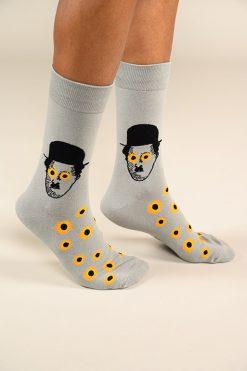גרביים בעיצוב צ'ארלי צ'אפלין 2 - 600068